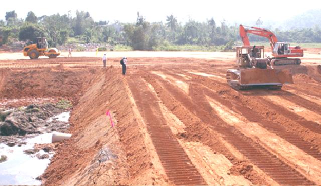 San nền và hệ thống đường giao thông KCN Suối Dầu – Giai đoạn 2
