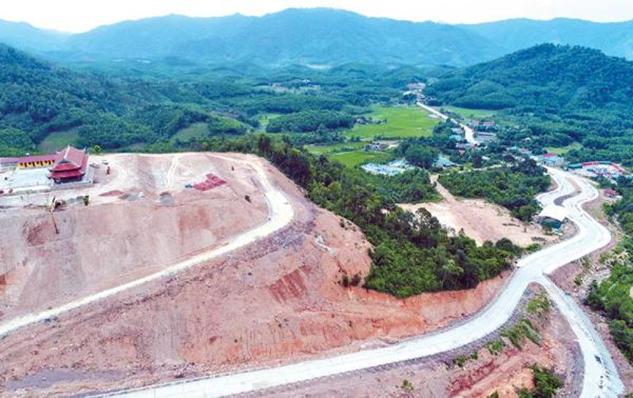 Công trình dự án Tây Yên Tử – Bắc Giang